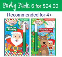 Christmas: Rock'n Around the Tree & Santa's Workshop - Party Pack (6 Books) ...Ages 4+