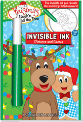 Invisible Ink: Christmas - Rock'n Around the Tree