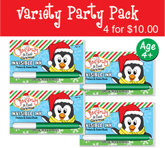 Christmas: A Cool Christmas - Party Pack (4 Books) ...Ages 4+