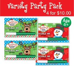 Christmas: A Party Pack (4 Books) ...Ages 6+