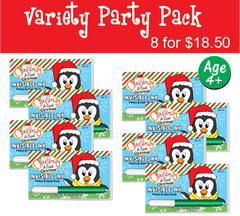 Christmas: A Cool Christmas - Party Pack (8 Books) ...Ages 4+