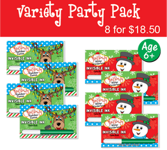Christmas: Party Pack (8 Books) ...Ages 6+