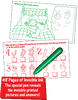 Invisible Ink: Christmas Game Book - A Cool Christmas