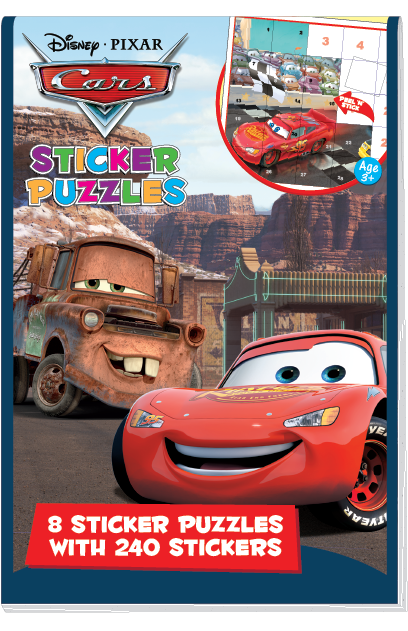 Sticker puzzles disney pixar cars