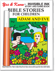 Invisible Ink: Bible Stories - Adam & Eve