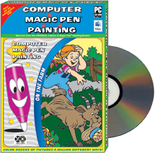 Computer Game: Magic Pen® Painting - On the Farm