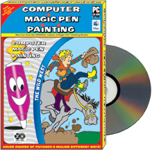 Computer Game: Magic Pen<small><sup>®</sup></small> Painting - The Wild West