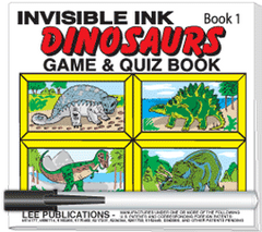 Invisible Ink: Dinosaur Book 1
