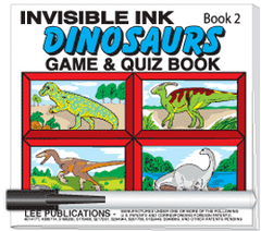 Invisible Ink: Dinosaur Book 2
