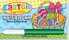 Invisible Ink: Easter Game Book - Eggs'tra Fun