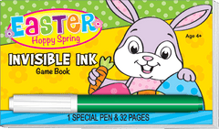 Invisible Ink: Easter Game Book - Hoppy Spring