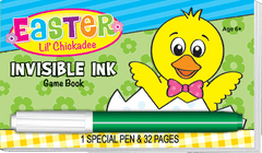 Invisible Ink: Easter Game Book - Lil' Chickadee