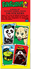 Sticker Puzzles: Funforms® - Funny Animals Set 14