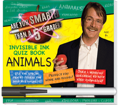 "Invisible Ink: Are You Smarter Than A 5th Grader? ""Animals"""