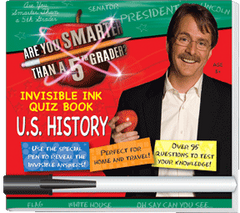 Invisible Ink: Are You Smarter Than A 5th Grader? - American History
