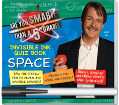 "Invisible Ink: Are You Smarter Than A 5th Grader? ""Space"""