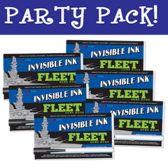Invisible Ink: Yes & Know® Game Book - Fleet Party Pack