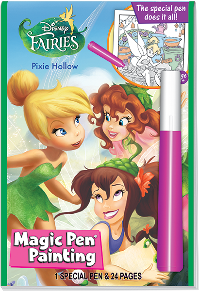 Lee Publications INVISIBLE INK PRINCESS AND THE FROG MAGIC PEN PAINTING BOOK 1 PRPF806