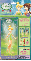 Magnetic Fun® Mini Tin: Disney Fairies - Tinker Bell & Fawn