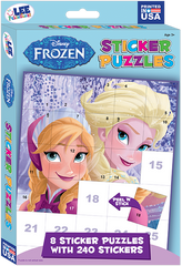Sticker Puzzles Box Set: Disney Frozen