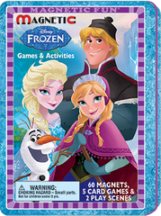 Magnetic Fun® Tin: Disney Frozen - Game Tin