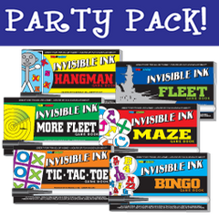 Invisible Ink: Yes & Know® Game Book - Game Party Pack