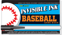 "Invisible Ink: Yes & Know® Game Book ""Baseball"""