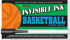 Invisible Ink: Yes &amp; Know<small><sup>®</sup></small> Game Book &quot;Basketball&quot;