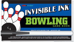 "Invisible Ink: Yes & Know® Game Book ""Bowling"""