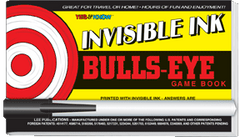 Invisible Ink: Yes & Know® Game Book - Bulls-Eye