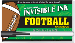 Invisible Ink: Yes &amp; Know<small><sup>®</sup></small> Game Book - Football