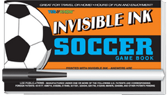 Invisible Ink: Yes &amp; Know<small><sup>®</sup></small> Game Book &quot;Soccer&quot;