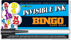Invisible Ink: Yes & Know® Game Book - Bingo
