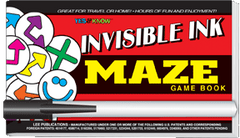 Invisible Ink: Yes & Know® Game Book - Maze