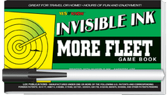 Invisible Ink: Yes &amp; Know<small><sup>®</sup></small> Game Book &quot;More Fleet&quot;
