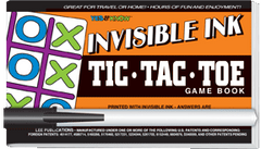 Invisible Ink: Yes &amp; Know<small><sup>®</sup></small> Game Book &quot;Tic-Tac-Toe&quot;