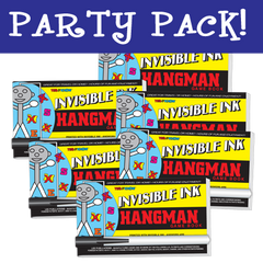 Invisible Ink: Yes & Know® Game Book - Hangman Party Pack