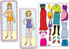 Magnetic Fun<small><sup>®</sup></small> Mini Tin: Paper Dolls Set 1