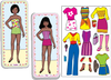 Magnetic Fun<small><sup>®</sup></small> Mini Tin: Paper Dolls Set 3