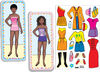 Magnetic Fun<small><sup>®</sup></small> Mini Tin: Paper Dolls Set 4
