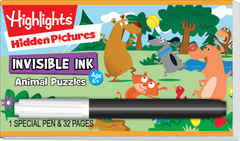 Invisible Ink: Highlights™ Hidden Pictures™ - Animal Puzzles