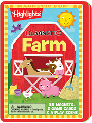 Magnetic Fun® Tin: Highlights™ - Farm