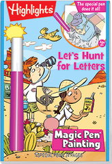 Magic Pen® Painting: Highlights™ - Let's Hunt for Letters