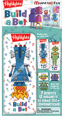 Magnetic Fun® Mini Tin: Highlights™ - Build a Bot