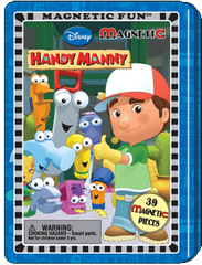 Magnetic Fun® Tin: Handy Manny