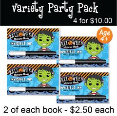 Halloween: Monster Mash - Party Pack (4 Books) ...Ages 4+