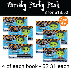Halloween: Monster Mash - Party Pack (8 Books) ...Ages 4+