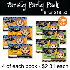 Halloween: Party Pack (8 Books) ...Ages 6+