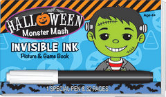 Invisible Ink: Halloween Game Book - Monster Mash