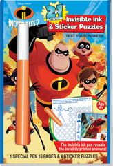 2in1: Disney•Pixar Incredibles 2 - Test Your Powers
